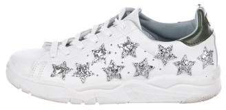 Chiara Ferragni Star-Embellished Low-Top Sneakers