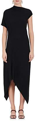 The Row Women's Jiana Rib-Knit Wool-Blend Off-The-Shoulder Dress