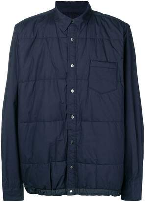 Sacai zipped fitted jacket