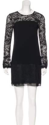 Diane von Furstenberg Lavana Lace Shift Dress Black Lavana Lace Shift Dress