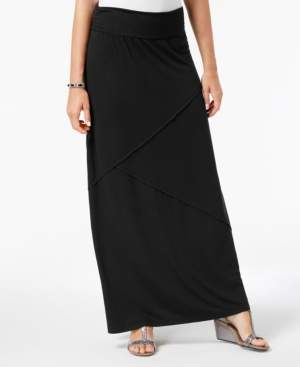 Style&Co. Style & Co Comfort-Waist Maxi-Skirt, Created for Macy's