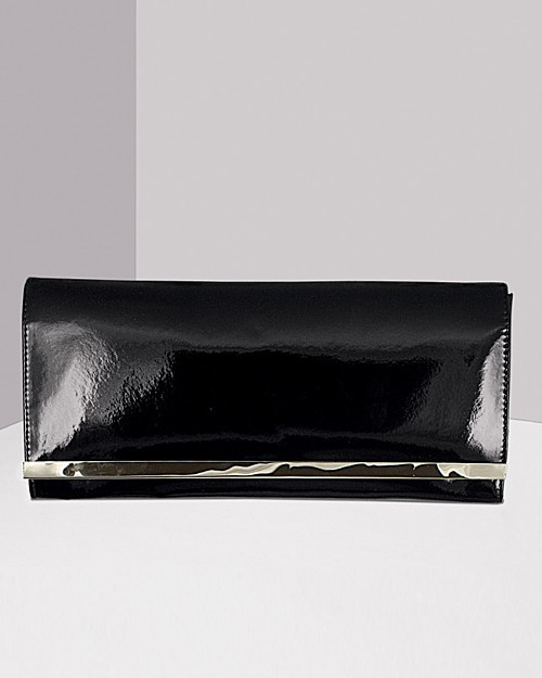 Private Label Women's Patent Leather Clutch