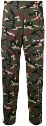Palm Angels camouflage track trousers