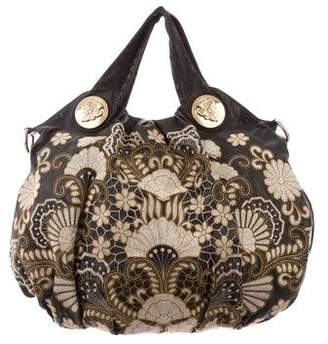 Gucci Floral Embroidered Hysteria Tote