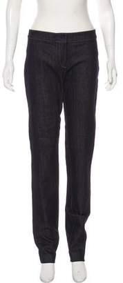 Derek Lam Mid-Rise Straight-Leg Jeans