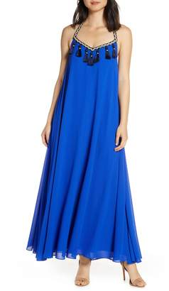 Mark & James by Badgley Mischka by Badgley Mischka Boho Halter Maxi Dress
