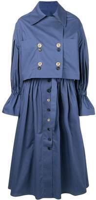 Eudon Choi Giovanna trench dress