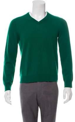 Barneys New York Barney's New York V-Neck Cashmere Sweater