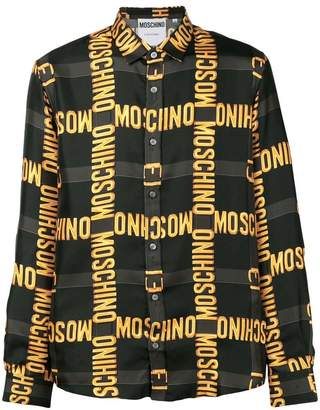 Moschino brand patterned shirt