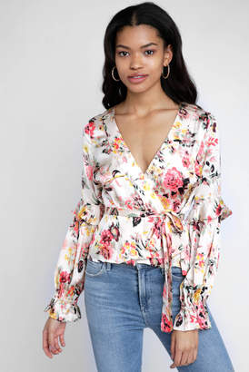 Billabong Love Like Summer By Love Like Summer by Floral Wrapped Up Top