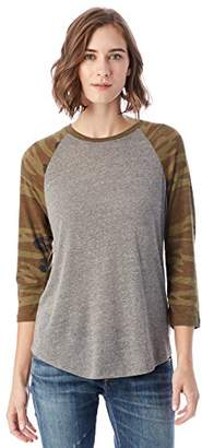 Alternative Women's Eco Jersey Baseball T Shirt $40 thestylecure.com