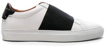 Givenchy Leather Urban Street Elastic Strap Low Sneakers