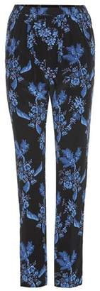 Stella McCartney Printed silk trousers