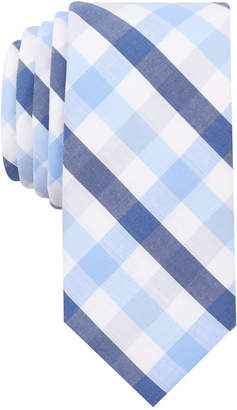 Bar III Men's Bold Multi-Gingham Skinny Tie, Only at Macy's $55 thestylecure.com