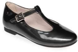 Venettini Leather T-Bar Shoes