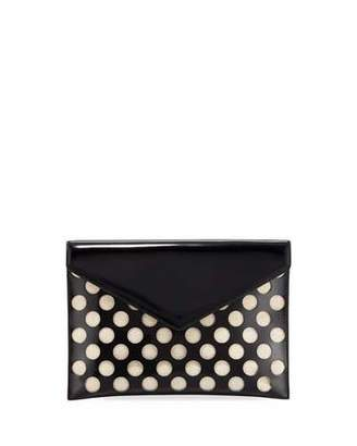 Rebecca Minkoff Leo Perforated Clutch Bag