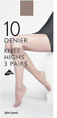 0d35ab986a3 John Lewis   Partners 10 Denier Knee High Socks