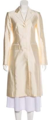 Michael Kors Silk Long Coat