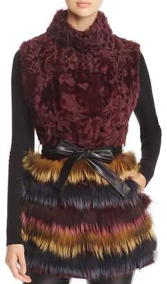 Maximilian Furs Kalgan Lamb Fur & Fox Fur Vest - 100% Exclusive