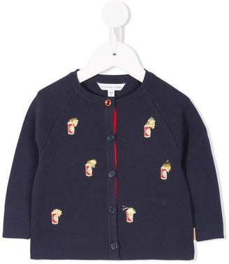 Little Marc Jacobs embroidered cardigan