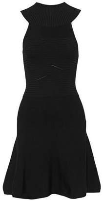 Cushnie et Ochs Ribbed-Knit Mini Dress