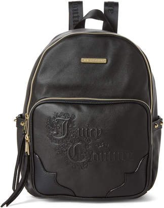 Juicy Couture Black Once Upon a Time Backpack