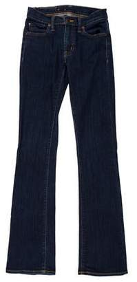 Ralph Lauren Low-Rise Flared Jeans