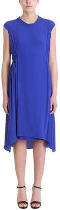 Mauro Grifoni Tie Neck Jersey Dress