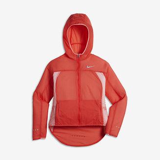Nike Impossibly Light Big Kids' (Girls') Running Jacket $90 thestylecure.com