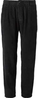 Universal Works Pleated Cotton-Corduroy Trousers