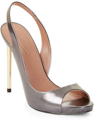 BCBGMAXAZRIA Prue Metallic Leather Pumps