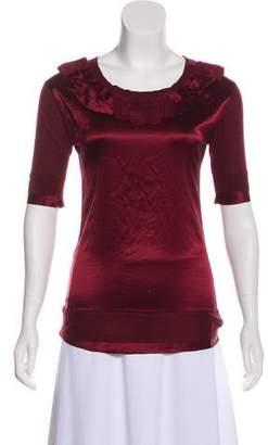 DKNY Knit Short Sleeve Top