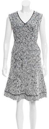 Thakoon Sleeveless Bouclé Dress