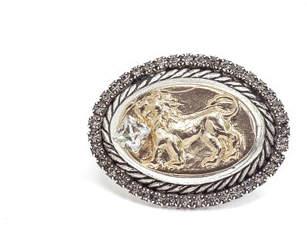 DYLANLEX Lia Signet Ring w/ Lion Motif
