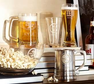 Pottery Barn NFL Beer Glasses