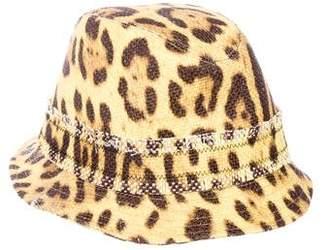 Dolce & Gabbana Cheetah Print Bucket Hat