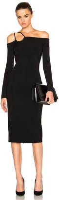 David Koma Off Shoulder Dress