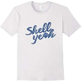 Shell Yeah Beach T-Shirt Vintage Texture