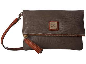 Dooney & Bourke Pebble Fold-Over Zip Crossbody