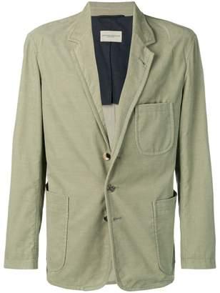 Holland & Holland corduroy single-breasted blazer