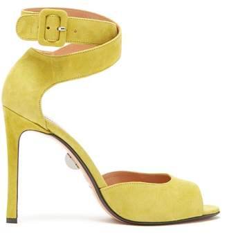 Samuele Failli - Jerry Suede Sandals - Womens - Yellow