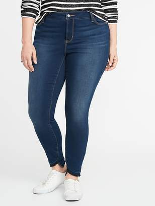 Old Navy High-Rise Built-In Warm Rockstar Super Skinny Plus-Size Jeans