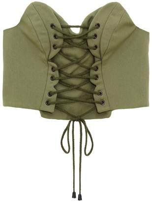 Whyte Studio - The Powder Lace Up Bodice
