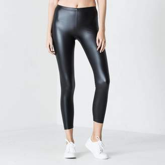 DSTLD Womens Matte Leggings in Black