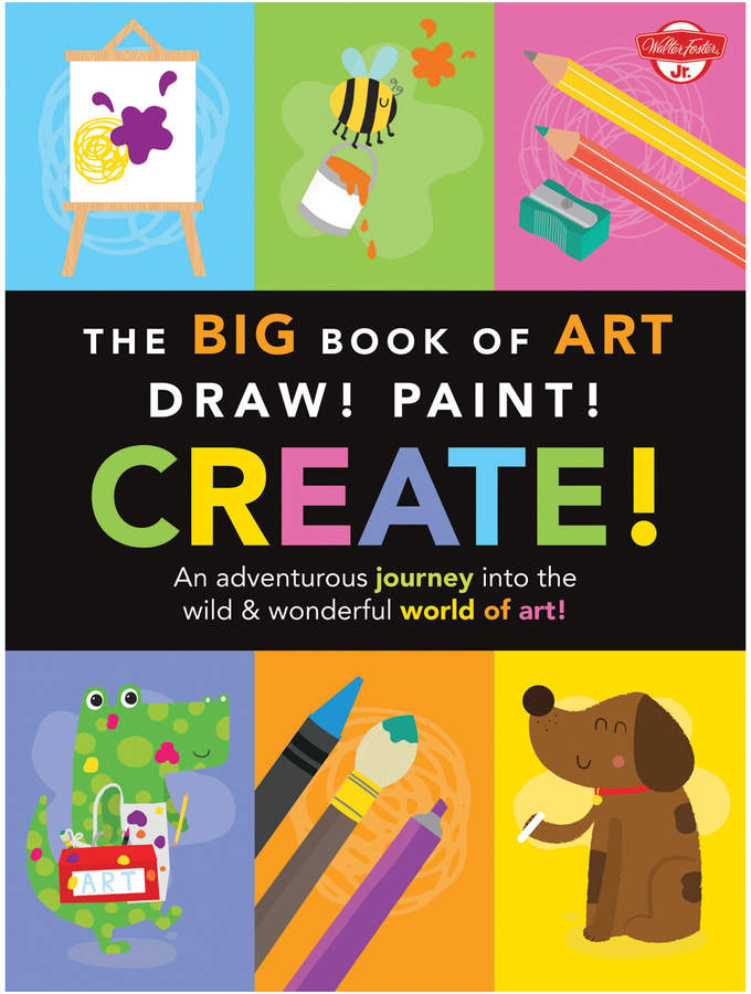 Quarto Publishing Big Book of Art: Draw! Paint! Create!