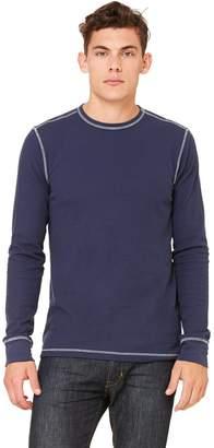 B.ella + Canvas Men's Thermal Long-Sleeve T-Shirt