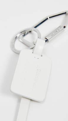 Off-White Ziptie Key Ring