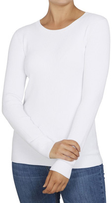 French Connection Crew Neck Rib Top