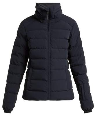 Peak Performance Megeve Quilted Down Ski Jacket - Womens - Navy