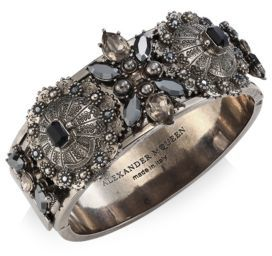 Alexander McQueenAlexander McQueen Metallic Sphere Cuff
